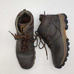 Timberland boys youth 5.5 Mt Maddsen boots leather